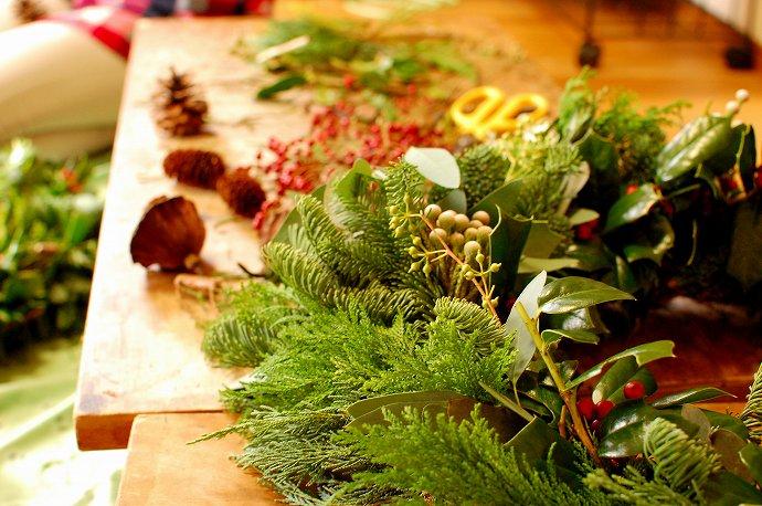 ひと葉のクリスマスウィーク「スペシャルクリスマスリースのWS」 @ atelierひと葉