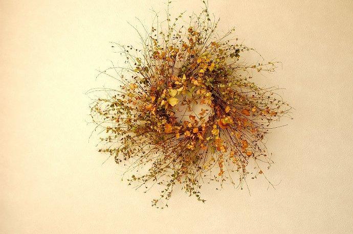 萩のリースのWS/自宅アトリエ @ atelierひと葉